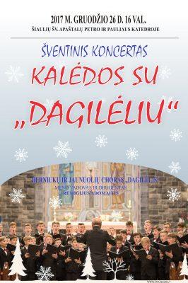"""2017-12-26 16.00 val. """"Kalėdos su Dagilėliu"""""""