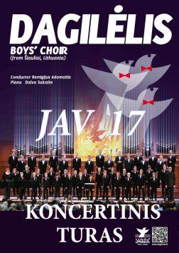 """2017 """"Dagilėlio"""" koncertinis turas Jungtinėse Amerikos Valstijose"""