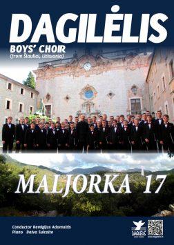 """(Lietuviškai) 2017 """"Dagilėlio"""" koncertinė – edukacinė kelionė į Maljorką"""