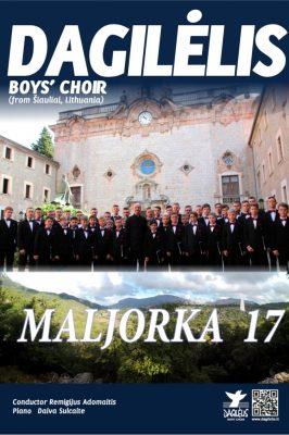 2017-08-23 – 29 Koncertinė – edukacinė kelionė į Maljorką