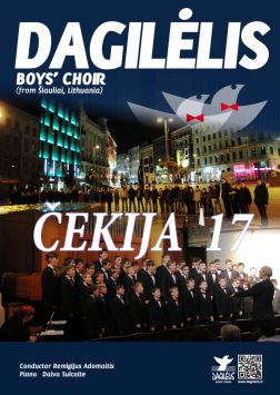 """2017 """"Dagilėlio"""" koncertinė kelionė į Čekiją"""