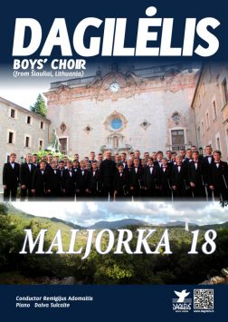 """2018 """"Dagilėlio"""" koncertinė kelionė į Maljorką"""