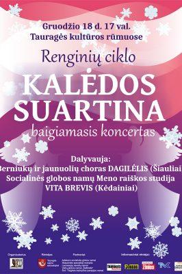 "(Lietuviškai) 2017-12-18 17.00 val. ""Dagilėlio"" koncertas Tauragės kultūros rūmuose"