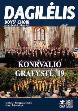 """2019 """"Dagilėlio"""" koncertinis turas Didžiojoje Britanijoje (Kornvalio Grafystė)"""