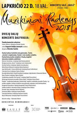 2018-11-22 18.00 val. Muzikiniai Rudenys 2018