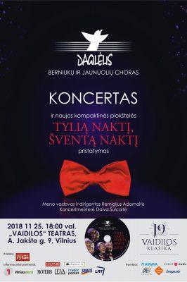 """2018-11-25 18.00 val. """"Dagilėlio"""" koncertas """"Vaidilos"""" teatre (Vilnius)"""