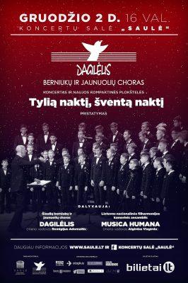 """2018-12-02 16.00 val. """"Dagilėlio"""" koncertas ir naujos kompakt. plokšt. pristatymas"""