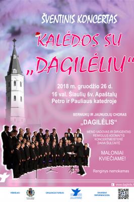 """2018-12-26 16:00 CHRISTMAS WITH BOYS CHOIR """"DAGILĖLIS"""""""