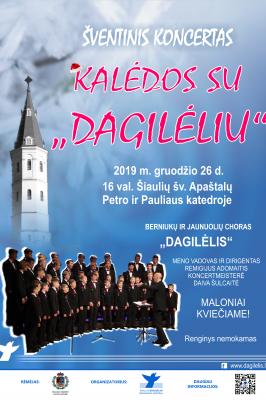 """26-12-2019 16:00 CHRISTMAS WITH BOYS CHOIR """"DAGILĖLIS"""""""