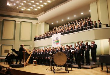 BOYS' AND YOUTHS WHERE UNITED ON THE KAUNAS PHILHARMONY STAGE