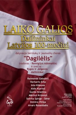 """2018-11-16 18:00 Opening concert of the """"Laiko galios"""" exhibition"""
