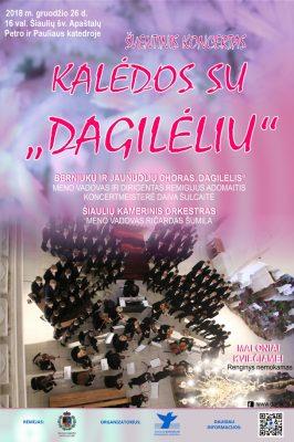 """2018-12-26 16.00 VAL. """"KALĖDOS SU DAGILĖLIU"""""""