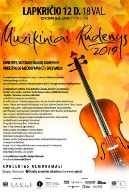 12-11-2019 18:00 Muzikiniai rudenys 2019   Šiauliai