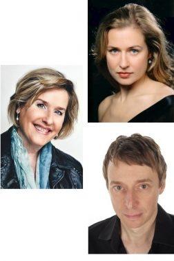 Judith SCHUBERT (sopranas), Friederike MEINEL (altas), Kim SCHRADER (tenoras)