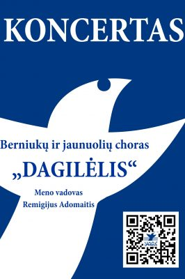 "(CANCELED!) 26-04-2020 ""Dagilėlis"" concert at Lithuania National Philharmony"