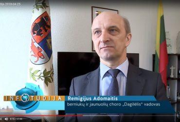 """INFOSTUDIJA: """"DAGILĖLIS"""" – PIRMASIS ŠIAULIŲ KOLEKTYVAS, KURIAM ĮTEIKTAS PRESTIŽINIS """"AUKSINIO DISKO"""" APDOVANOJIMAS"""