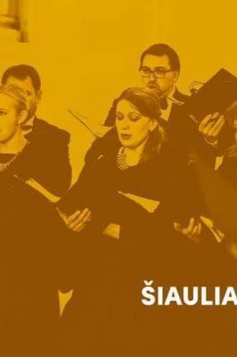 """03-10-2020 19:00 """"Šiauliai Cantat"""". Concert"""