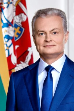 The President of Lithuania Gitanas NAUSĖDA