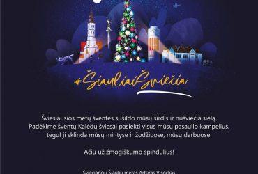 (Lietuviškai) ŠVENTINIAI SVEIKINIMAI (ATNAUJINTA 2020-12-28)