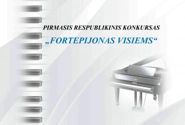 """(Lietuviškai) SVEIKINAME EIMANTĄ G., RYTĮ M., AUGUSTĄ Š., NOJŲ T. IR KRISTUPĄ K. TAPUS VIRTUALAUS KONKURSO """"FORTEPIJONAS VISIEMS"""" II-III VIETOS LAUREATAIS!"""