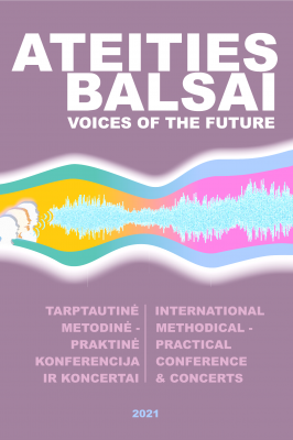 """19-11-2021 International Conference """"Voices of the Future"""". Concert at Singing School """"Dagilėlis"""""""