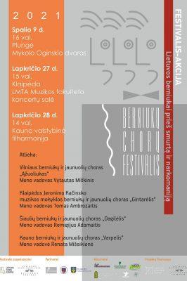 27-11-2021 15:00 Berniukai prieš smurtą ir narkomaniją. Concert in Klaipėda